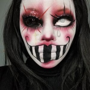 spooky scary halloween makeup