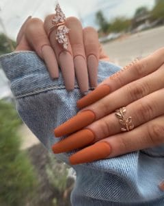 40 Fall Nail Colors, Ideas & Designs