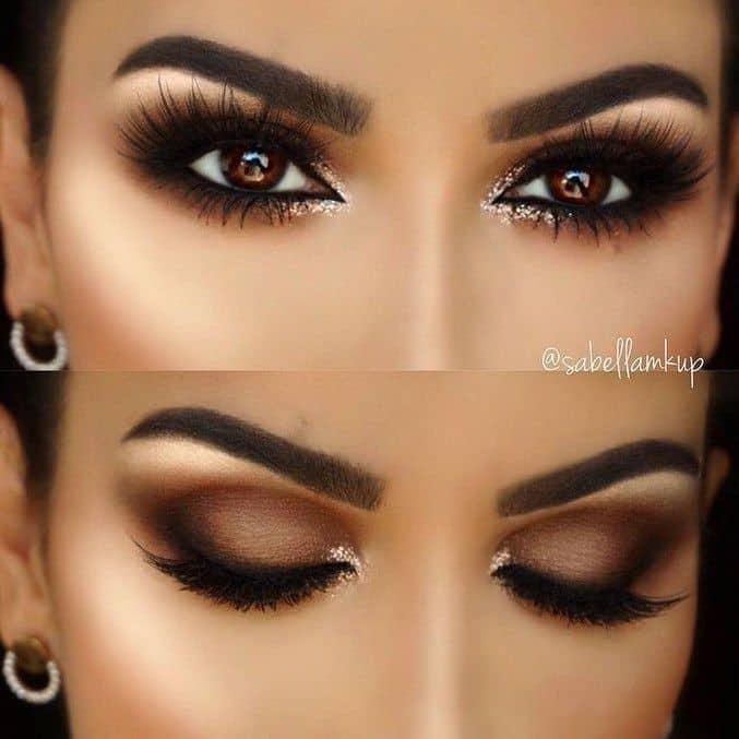 brown eyes makeup