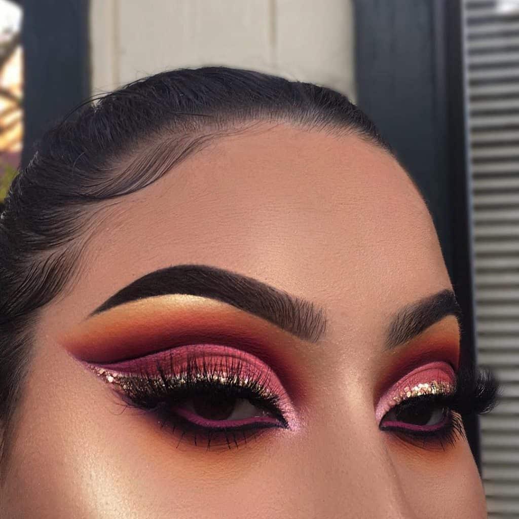 pink cutc crease