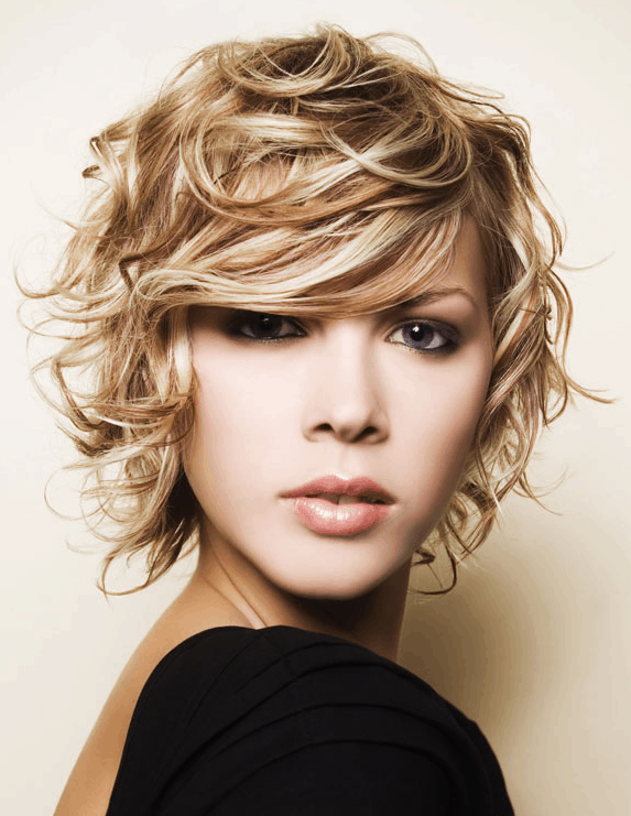 wet and wild short hairstyle