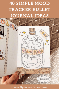 40 Simple & Creative Mood Tracker Bullet Journal Ideas for 2021