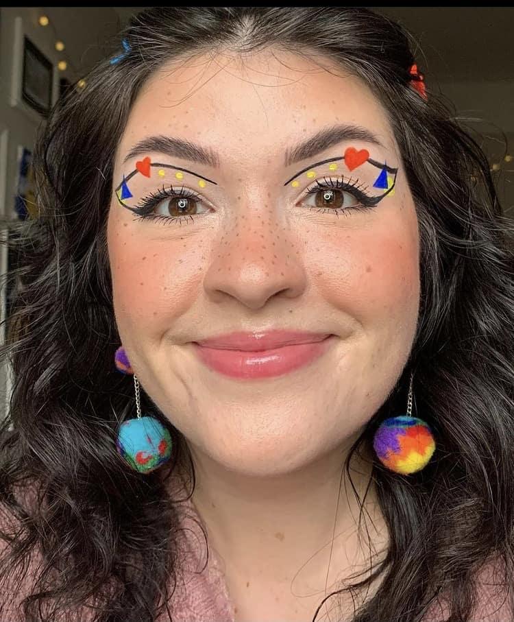 Pretty indie makeup looks