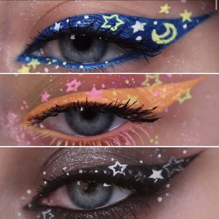 Indie makeup eye makeup ideas