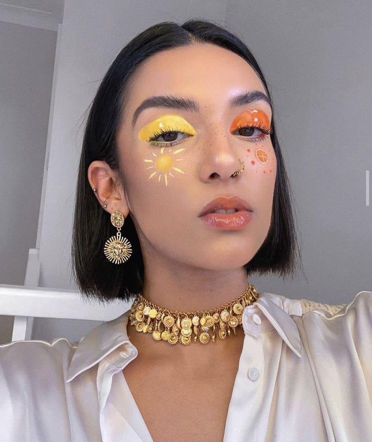 Indie beauty makeup looks