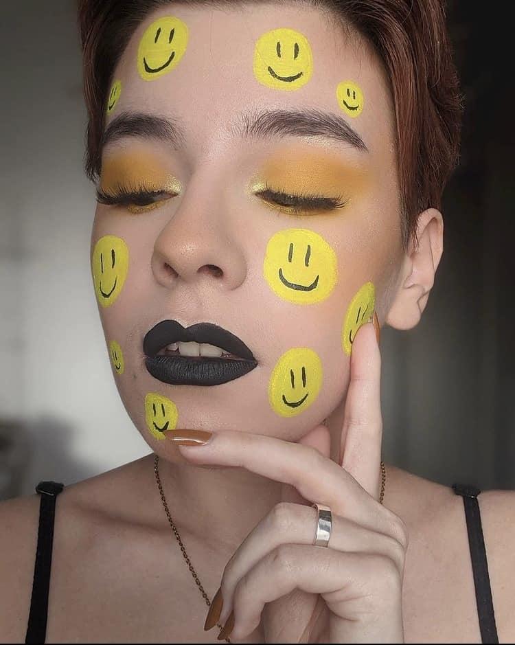 Emoji makeup indie beauty